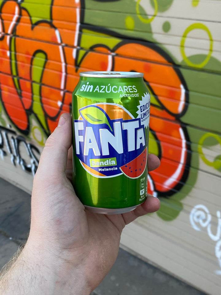 Fanta Watermelon (Portugal)