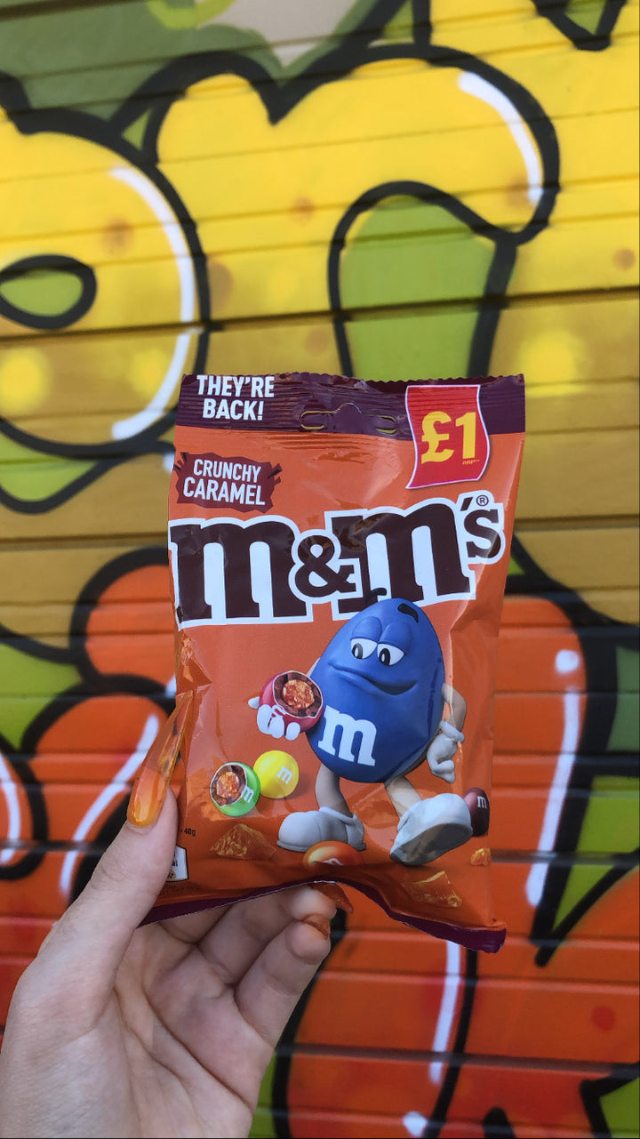 M&m's Crunchy Caramel (UK)