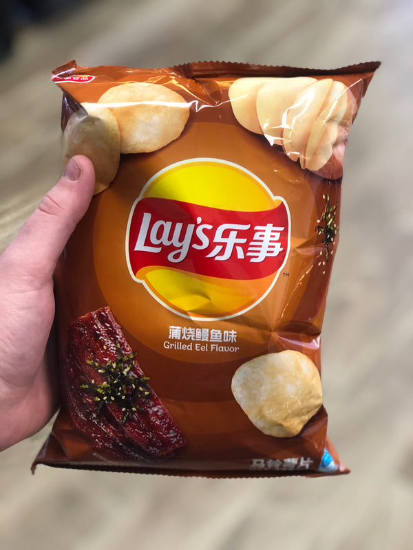 Lays Grilled Eel (China)