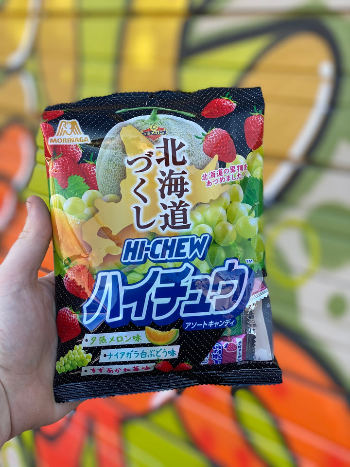 Hi Chew Assorted Strawberry Melon Muscat Grape (Japan)