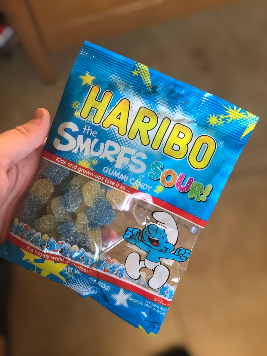 Haribo The Smurfs Sour!