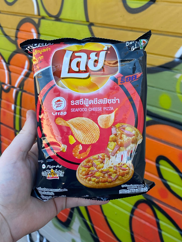 Lays x Pizza Hut Cheese Pizza (Thailand)