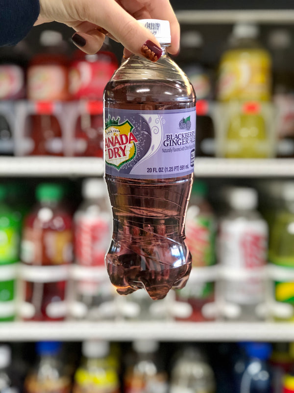 Canada Dry Blackberry Gingerale 20oz