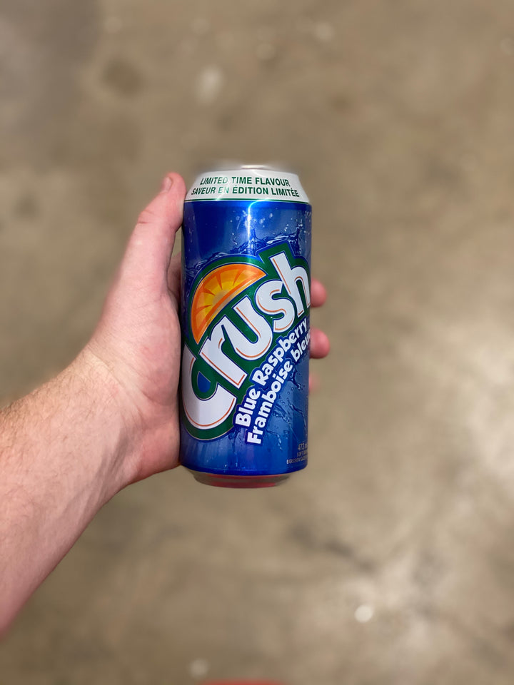 Crush King Cans (Canada)