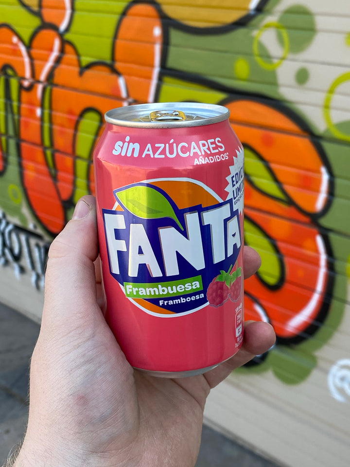 Fanta Raspberry (Portugal)