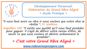 RP002: Élaboration du Grand Rêve Aligné: Guide Pratique de Transformation Positive