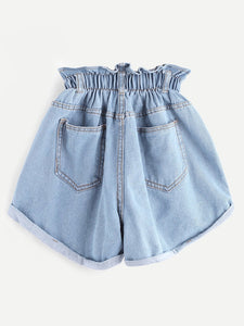 Old Town Road High Waist Shorts
