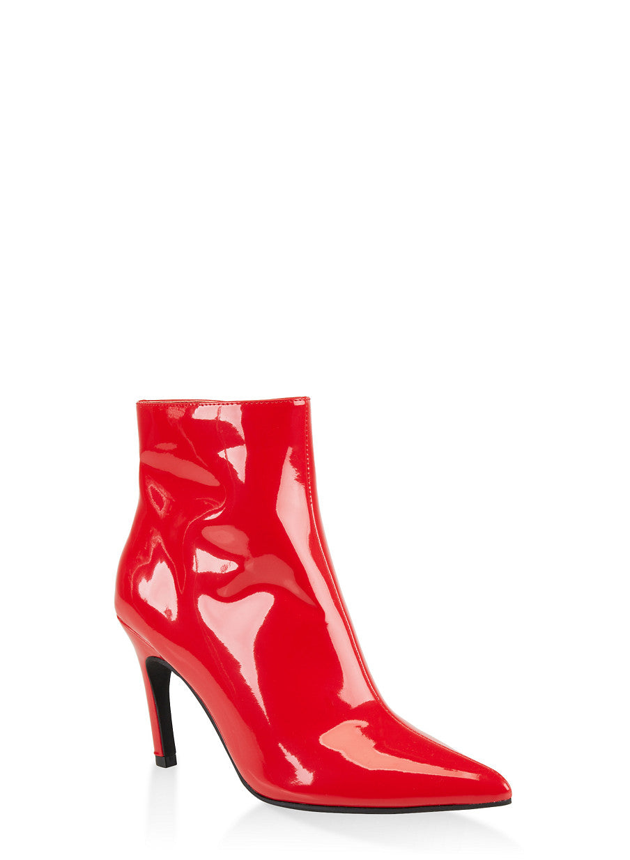 Hot Lava Ankle Boots