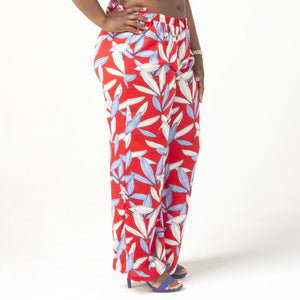 Juliette Wide Leg Pants-Plus