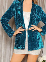 Load image into Gallery viewer, Kiss Me Velvet Blazer