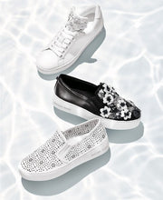 Load image into Gallery viewer, MICHAEL Michael Kors Trent Slip-On Sneakers