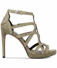 Load image into Gallery viewer, MICHAEL Michael Kors Sandra Platform Caged Dress Sandals