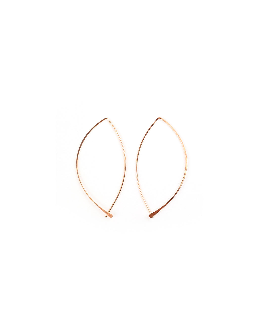 Lotus Earring (rose gold)