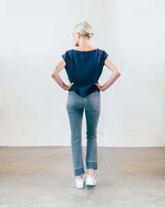 Bardot Straight Fray Jeans