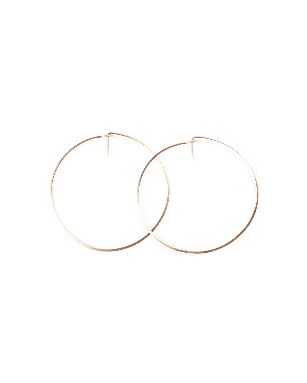 Deco Hoop (gold) - Small