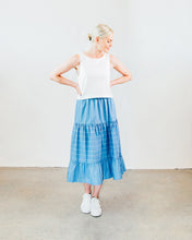 Load image into Gallery viewer, Chambray Prairie Skirt