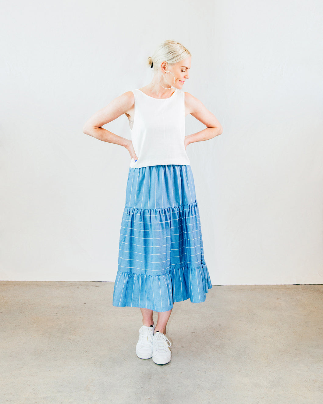 Chambray Prairie Skirt