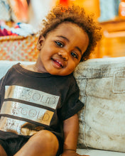 Load image into Gallery viewer, Solid Gold Baby Romper