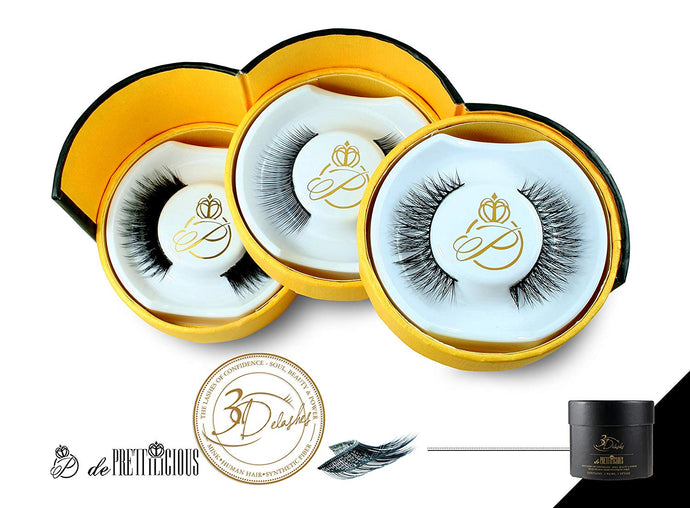 de Prettilicious 3Delashes Collection!