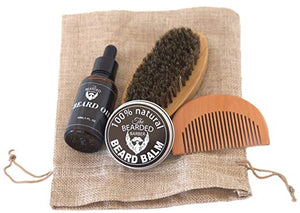 The Essential Beard Oil and Balm for Men