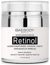 Load image into Gallery viewer, Baebody Retinol Moisturizer Cream for Face and Eye Area