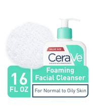 Load image into Gallery viewer, Foaming Facial Cleanser, For Normal to Oily Skin, 19 fl oz