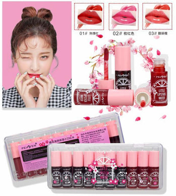 Peiyen little water lipstick 10 pcs set