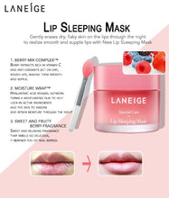 Load image into Gallery viewer, Lip Sleeping Mask, Berry, 20 g