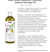 Load image into Gallery viewer, Solutions, Lavender Almond Massage Oil, 16 fl oz (473 ml)