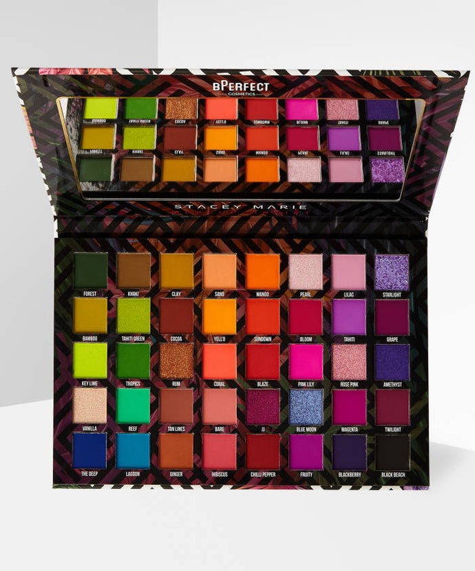 BPERFECT  BPERFECT X STACEY MARIE CARNIVAL III LOVE TAHITI PALETTE