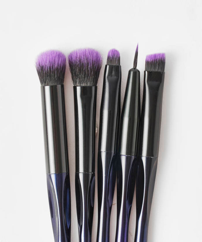 BRUSHWORKS  HD PRECISION EYE & BROW BRUSH SET