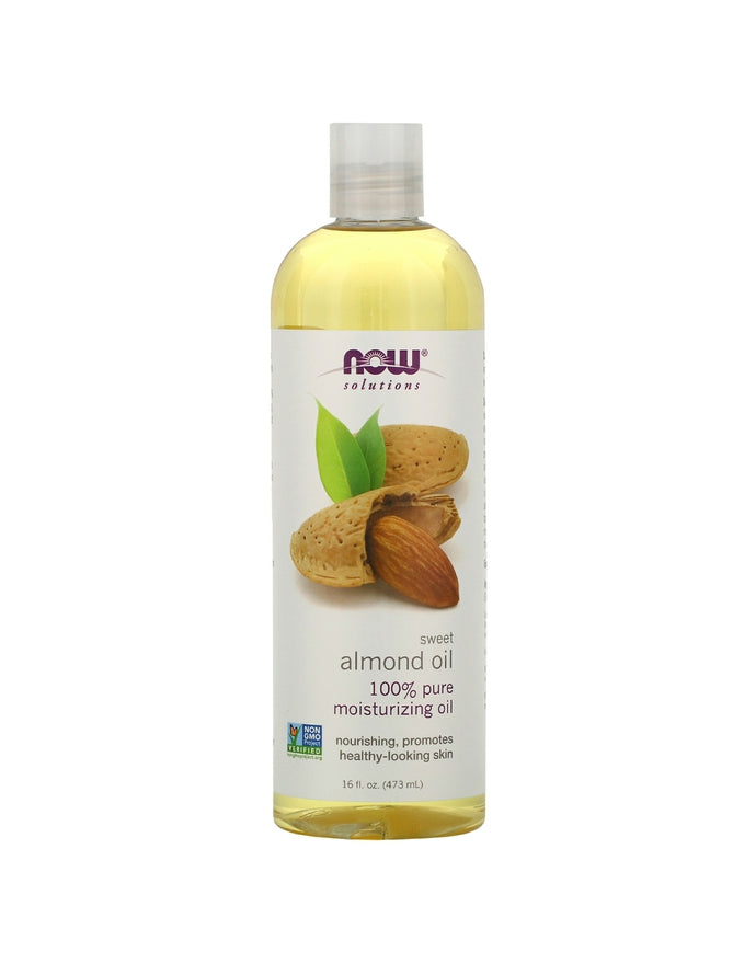 Now Foods, Solutions, Sweet Almond Oil 16fl oz