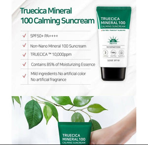 Some By Mi, Truecica Mineral 100 Calming Suncream, SPF 50+ PA++++(50 ml)