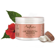 Load image into Gallery viewer, Shea Moisture Coconut Hibiscus Curl Enhancing Smoothie-12 oz