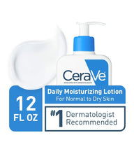 Load image into Gallery viewer, Daily Moisturizing Lotion, Lightweight, 12 fl oz (355 ml)