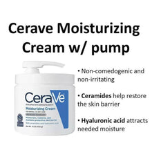 Load image into Gallery viewer, Moisturizing Cream with Pump, 16 oz (453 g)
