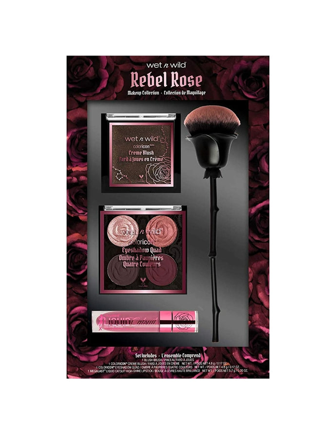 wet n wild Limited edition rebel rose kit