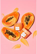 Load image into Gallery viewer, GLOW RECIPE  Papaya Sorbet Enzyme Cleansing Balm( 100ml )