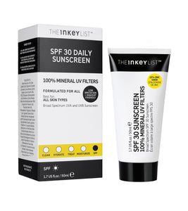 THE INKEY LIST  SPF 30 Daily Sunscreen( 50ml