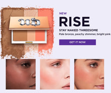 Load image into Gallery viewer, URBAN DECAY  Stay Naked Threesome( 14g) RISE