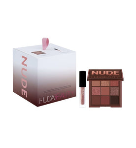 HUDA BEAUTY  Mini Nude Obsession + Mini Liquid Matte