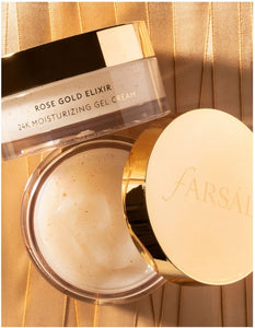 FARSÁLI  Rose Gold Elixir 24K Moisturizing Gel Cream( 45ml )