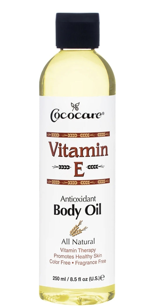 Cococare Vitamin E, Body Oil, 8.5 fl oz (250 ml)