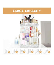 Load image into Gallery viewer, Makeup Organizer 360 Degree Rotating 7 Adjustable Layers Large Capacity