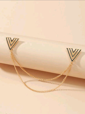 Letter Design Collar Chain