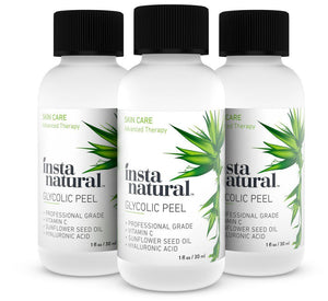 InstaNatural, Glycolic Peel, 1 fl oz (30 ml)