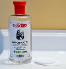 Load image into Gallery viewer, Thayers, Witch Hazel, Aloe Vera Formula, Alcohol-Free Toner, Original, 12 fl oz (355 ml)