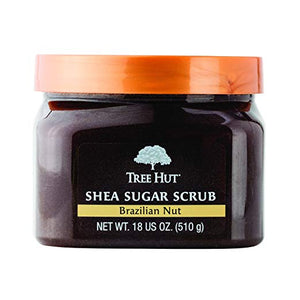 Tree Hut Shea Sugar Scrub, Brazilian Nut, 18 Ounce