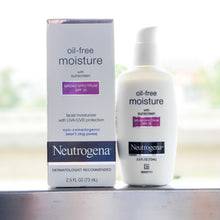 Load image into Gallery viewer, Neutrogena, Oil Free Moisture, Facial Moisturizer with UVA/UVB Protection