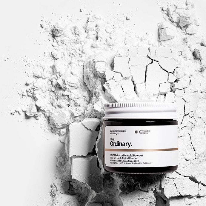 The Ordinary 100% L-Ascorbic Acid Powder Fine 325 Mesh Topical Powder w Vitamin C